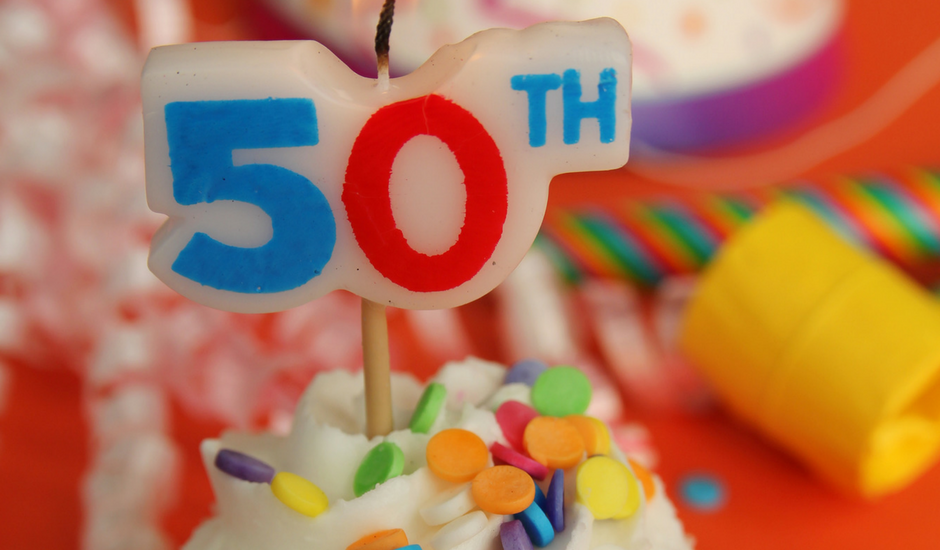 turning 50, 50th birthday, middle age, midlife, empty nest